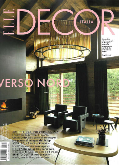 2017-12 Decembre ELLE DECORATION Italie Couv