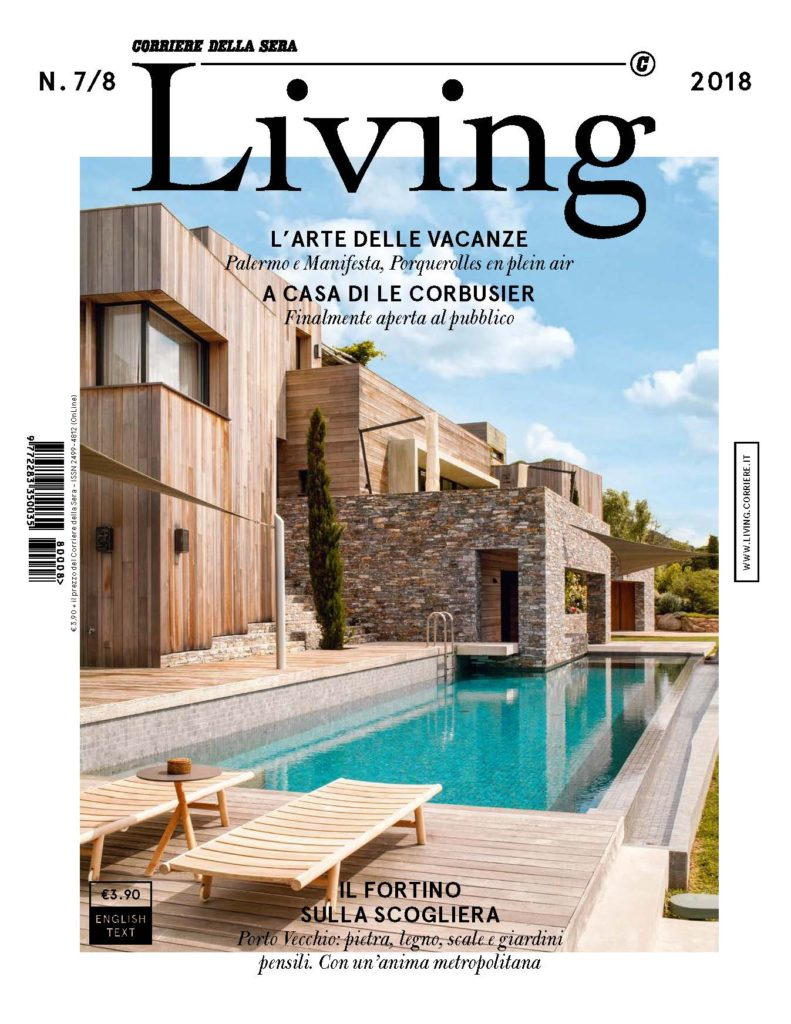2018-07 Juillet LIVING CORRIERE Cover_Page_1