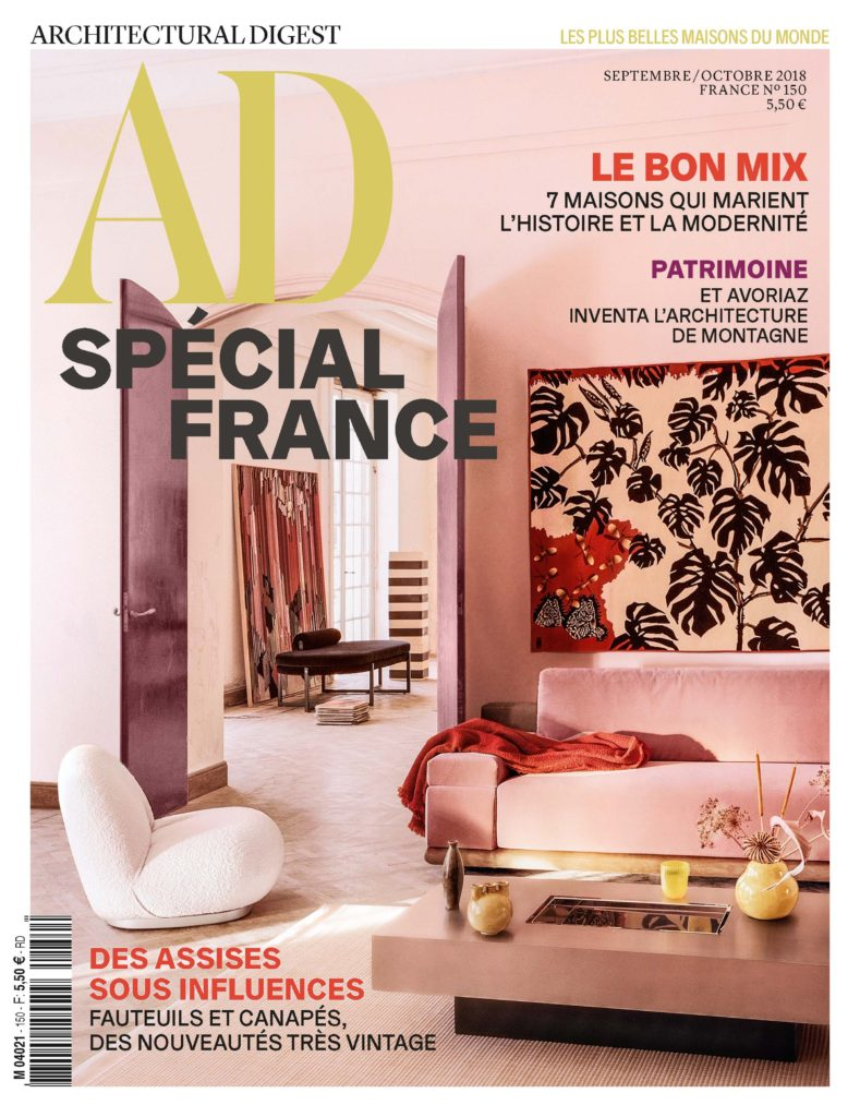 2018-09 Septembre AD France Cover