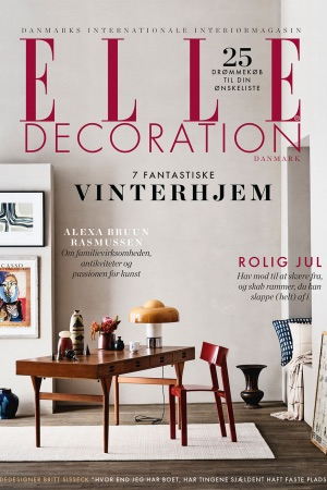2018-12 Decembre ELLE DECORATION Danemark Cover